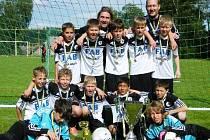 Malí fotbalisté dobyli Vysočinu.