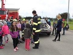 Den otevřených dveří u hasičů v Rychnově nad Kněžnou.