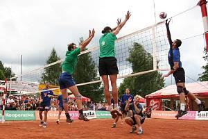 Finále antukové ligy ve volejbale 2007.