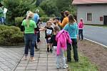 Školní projekt Běh s Emilem v Dobřanech.