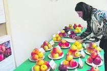 Ovhutnávka nebyla nijak jednoduchá, 33 druhů jablek k posouzení. Jak najít favorita? Vítězná odrůda ještě není známá.