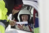 Premiérový automobilový závod, který se jel v sobotu na Rychnovsku.