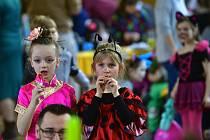 Dětský maškarní karneval v Týništi nad Orlicí.