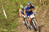 Na start sedmého ročníku závodu horských kol Stalak Bike Cup v lese Včelném se postavilo celkem sto devět účastníků.