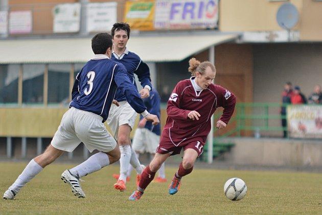STŘELEC. Solnický útočník Radek Schod (na snímku) se podílel jedním gólem na vítězství svého týmu ve Voděradech.