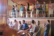 Den otevřených dveří v dobrušském pivovaru