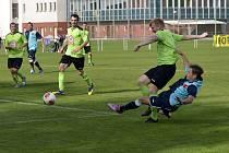 Fotbalové utkání Slavia Hradec - Dobruška