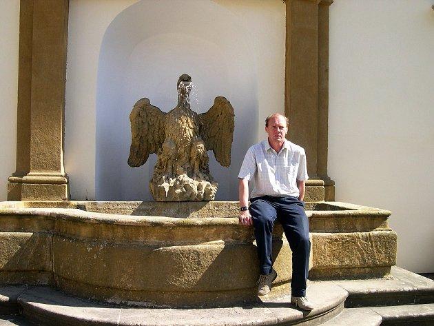 MAJITEL ZÁMKU JAN KOLOWRAT věří, že připravované expozice přitáhnout  nové turisty.