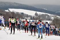 První únorový víkend bude v Deštném v Orlických horách patřit běžcům na lyžích, kteří se vydají na trasu jubilejního  třicátého Orlického maratonu.