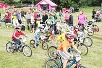 Na Malém Stalak bike cupu v Rychnově byl vyrovnán účastnický rekord z loňského ročníku, kdy panovalo podstatně příznivější počasí