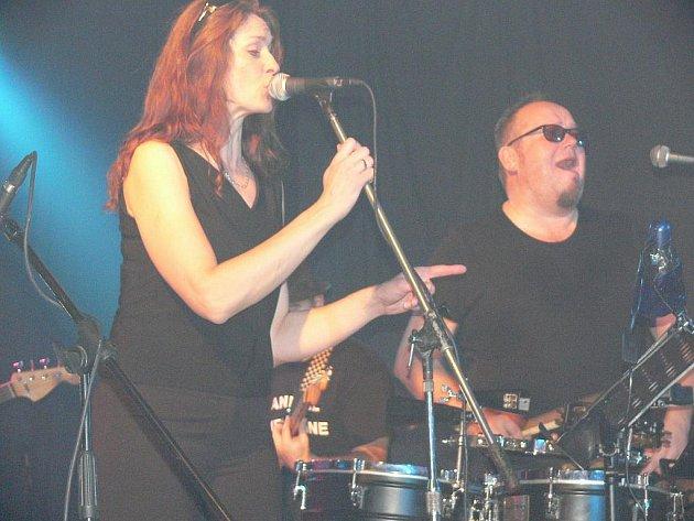 V Častolovicích zahráli a zapěli hudebníci kapely Sto zvířat v rámci takzvaného Postelového turné.