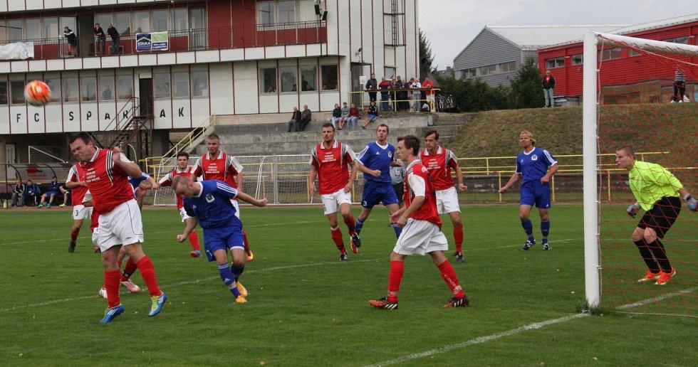 Fotbalové utkání Rychnov B - Častolovice
