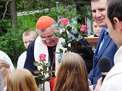 Vysvěcení kapličky Panny Marie v Sedloňově