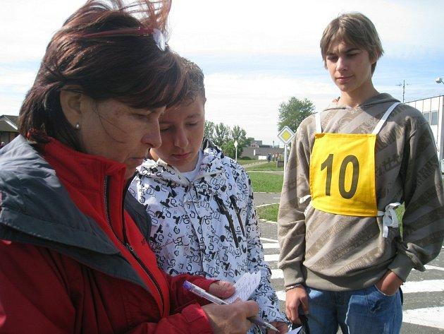 Oblastní kolo Dopravní soutěže mladých cyklistů v Rychnově nad Kněžnou