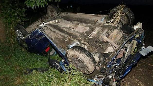 Dopravní nehoda - Č. Meziříčí