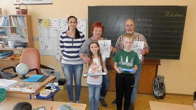 Děti kreslily holandské motivy