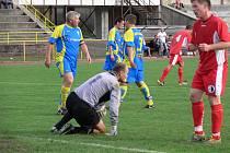 ČISTÉ KONTO udrželi fotbalisté Vamberka v Lípě nad Orlicí a díky těsnému vítězství zůstali na prvním místě.