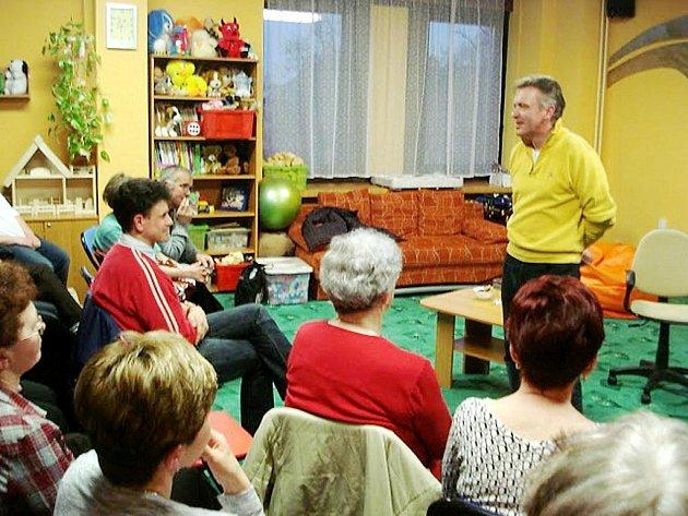 Czendlik při své návštěvě promluvil nejen o pomáhání potřebným lidem