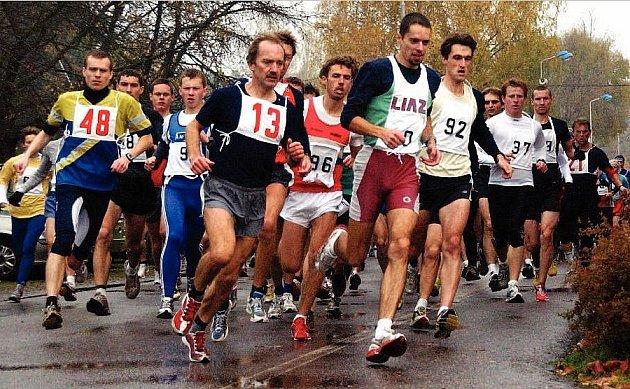Silniční běžecký závod Týnišťská desítka.