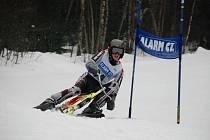 Skibobisté zahájili sezonu pohárovými závody v Deštném
