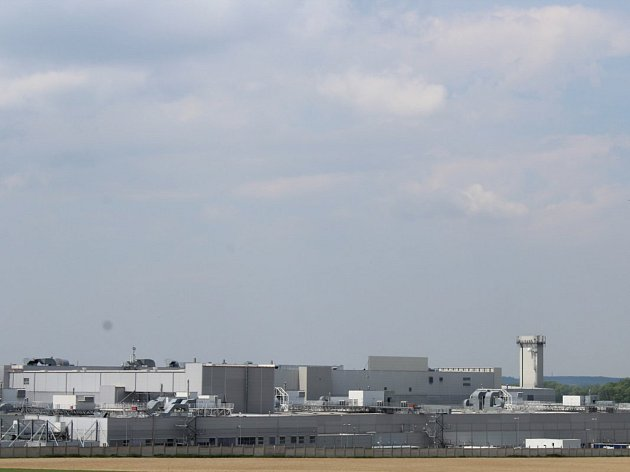 Průmyslová zóna.