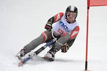 PRVNÍ A TŘETÍ MÍSTO vybojoval na závodech Světového poháru  v Kleinlobmingu český skibobista  Aleš Housa.