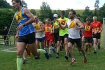 Desetikilometrovou trať nejrychleji absolvoval Michal Balcar z Run Sport Teamu s číslem 13.