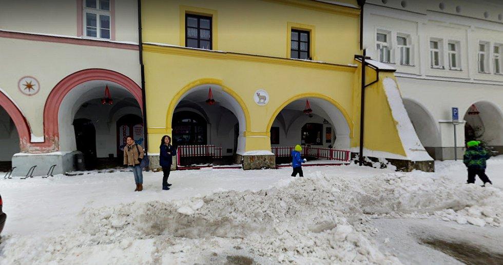 Cukrárna Nové Město nad Metují.