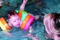 Plavání ve Vamberku.