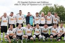 Rychnovská rezerva suverénně ovládla nejnižší okresní fotbalovou soutěž.