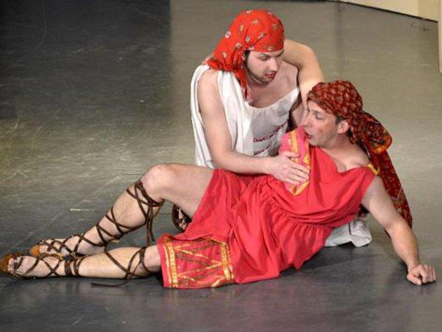 Ukázka z představení spolku Jirásek.