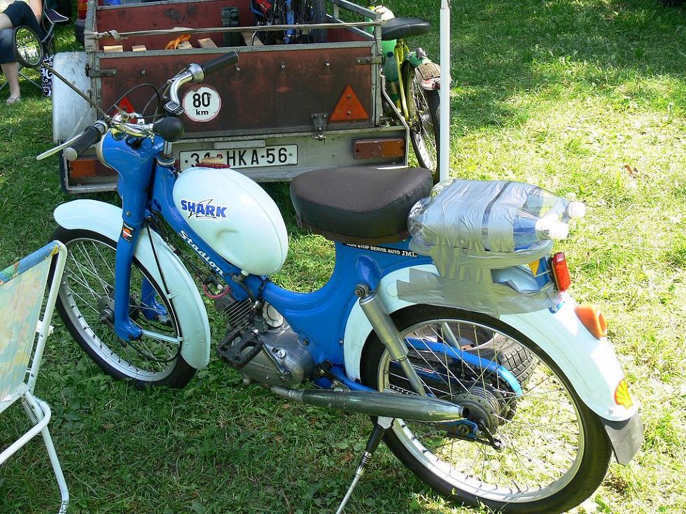 Veteran Moped Show