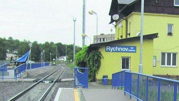 Rychnovské nádraží.