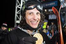 Kanaďan Vincent Gagnier - letošní vítěz disciplíny Big Air na nejprestižnější akci tohoto sportu: X-Games