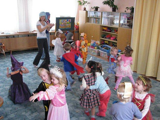 Karneval v rychnovské Mateřské škole Klíček.