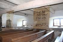 Kostel ve Vrchní Orlici.