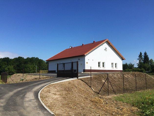 Nová čistírna odpadních vod se nachází ve Velké Čermné.