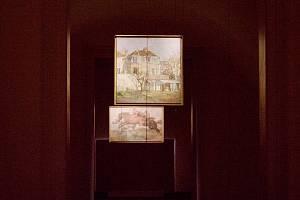 Výstava F. Kupky v Opočně