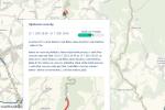 Komplikace na silnici u Skuhrova