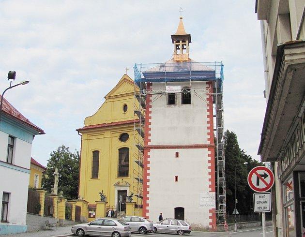 Zvonice v Dobrušce