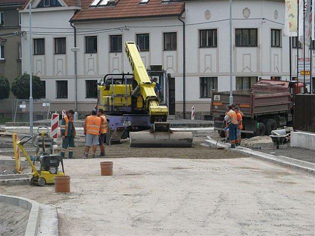 Rekonstrukce nádraží v Týništi nad Orlicí