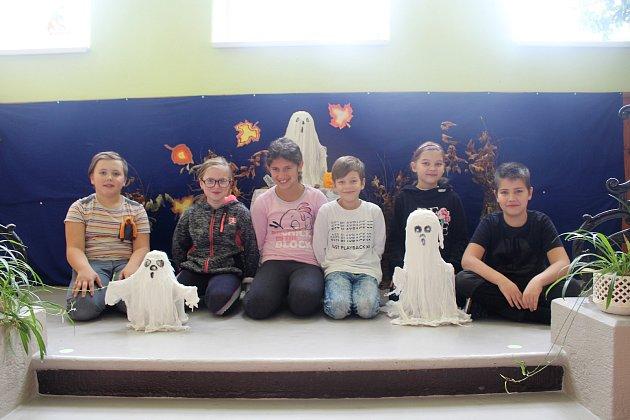 Děti ze Základní školy Olešnice vOrlických horách.