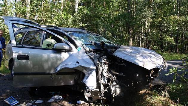 Dopravní nehoda v Rašovicích