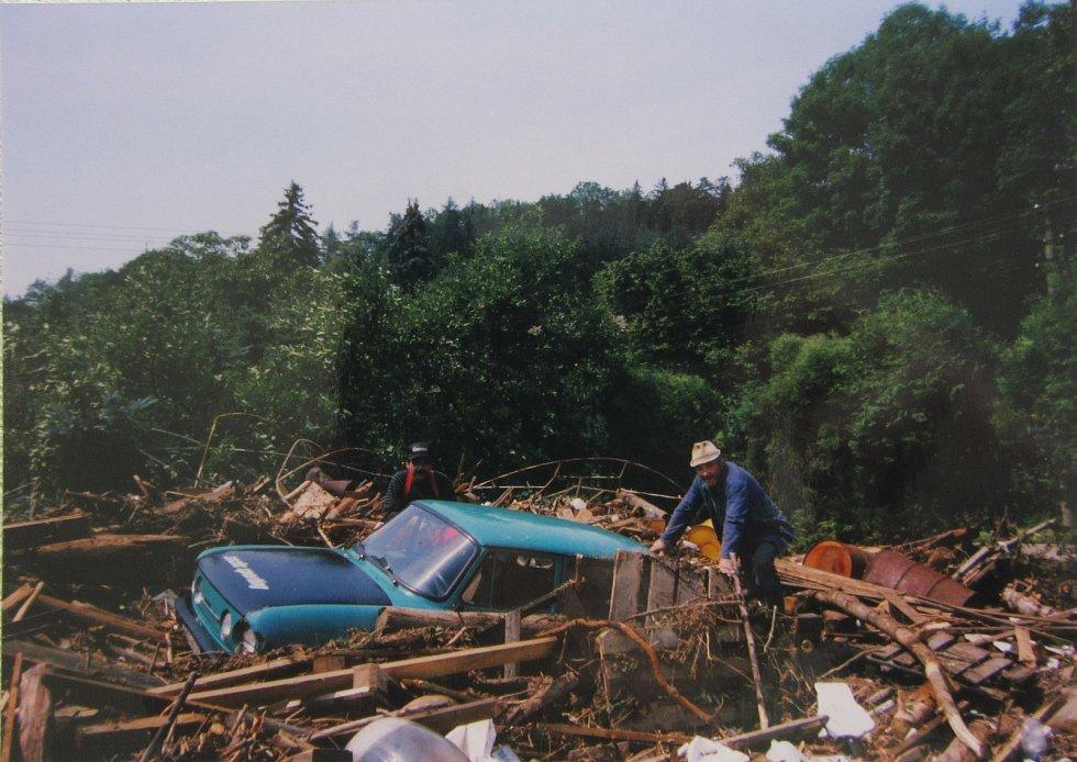 Povodeň 1998 a její následky.