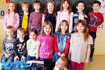 První třída Církevní základní školy Borohrádek