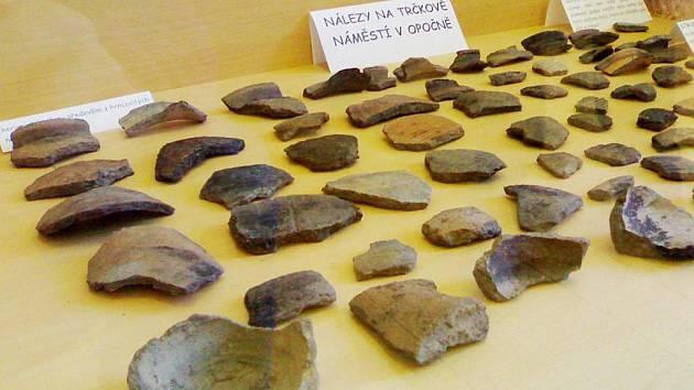 Archeologické nálezy v Opočně
