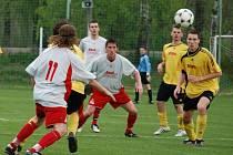 Mistrovské utkání krajského přeboru Doudleby - Černilov skončilo nerozhodně 2:2.