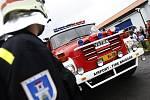Letištní hasiči Borohrádek.