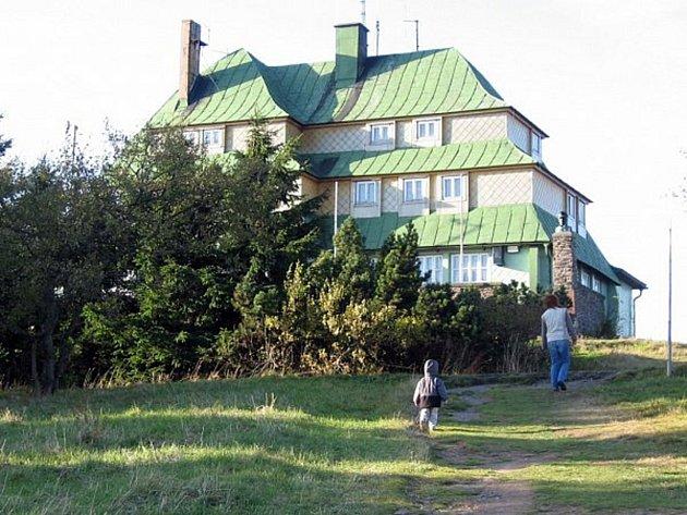 Masarykova chata.