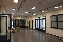 Vstupní hala bude sloužit pro výstavy.